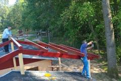 Aufbau des Mittelbaus