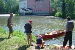 Fränkische Saale + Main - Himmelfahrt 2009