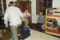 Herbstferien im Forsthaus Rohanov 2005