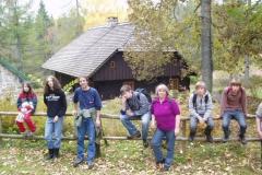 Herbstferien im Forsthaus Rohanov 2008