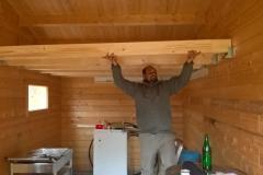Innenausbau des Lagerraums