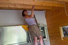 Innenausbau: Küche und Duschen