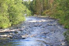 Kanufahrt auf dem Jungonjoki