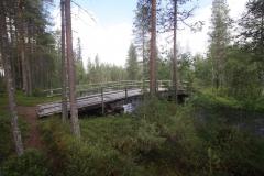 Kanufahrt auf dem Perankajoki